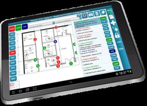 Logiciel suivi de chantiers sur tablette Windows et Android, gestion réserves, levée réserve tablette, logiciel tablette batiment